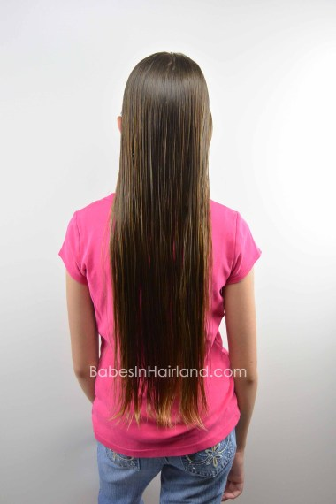 Haircut and Hair Donation from BabesInHairland #haircut #longhair #shorthair #hairdonation