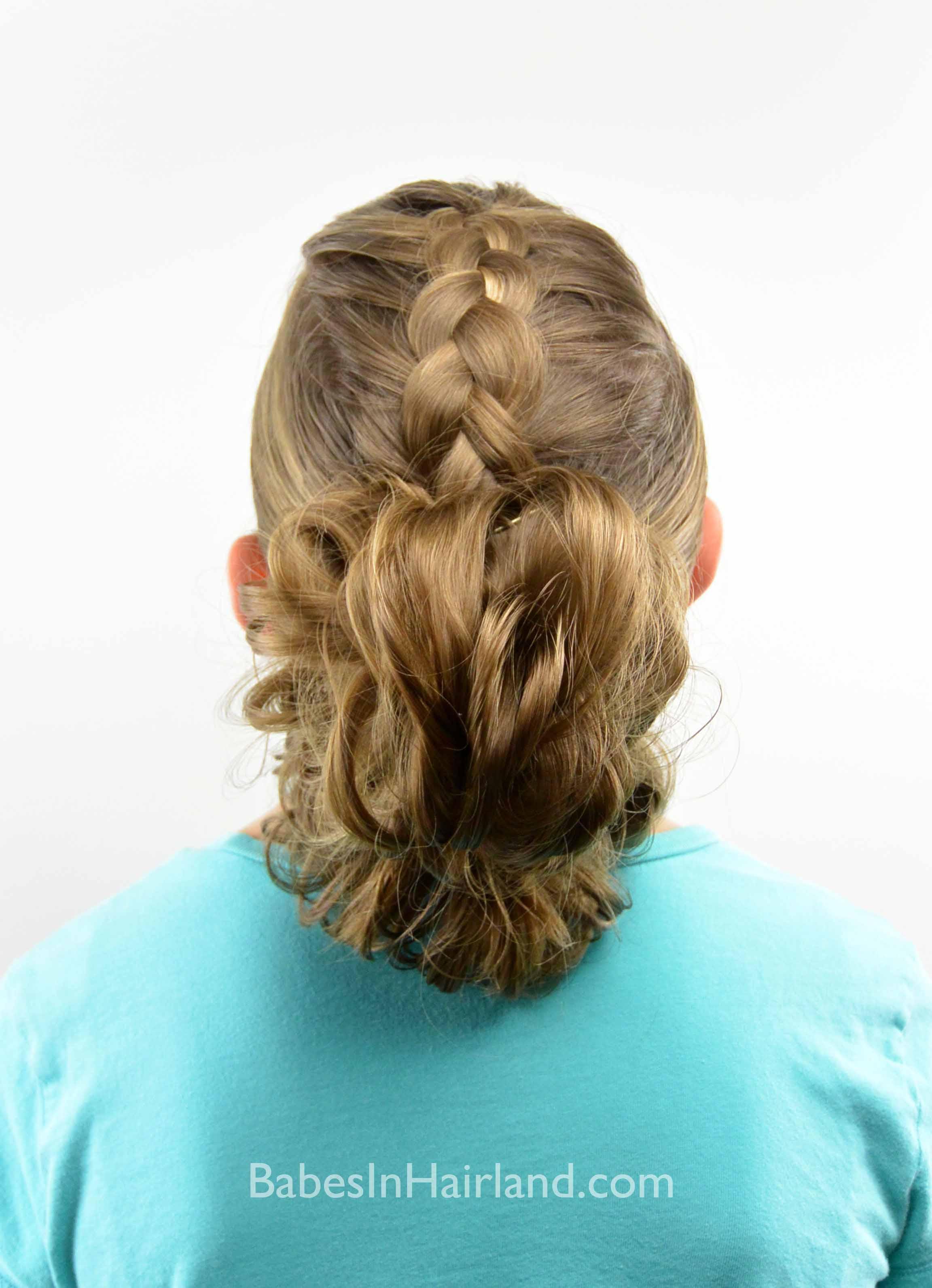 Dutch Braid Messy Bun Fauxhawk Babes In Hairland