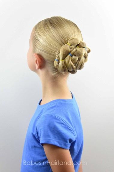 Banded Bun from BabesInHairland.com #bun #hairstyle #hair