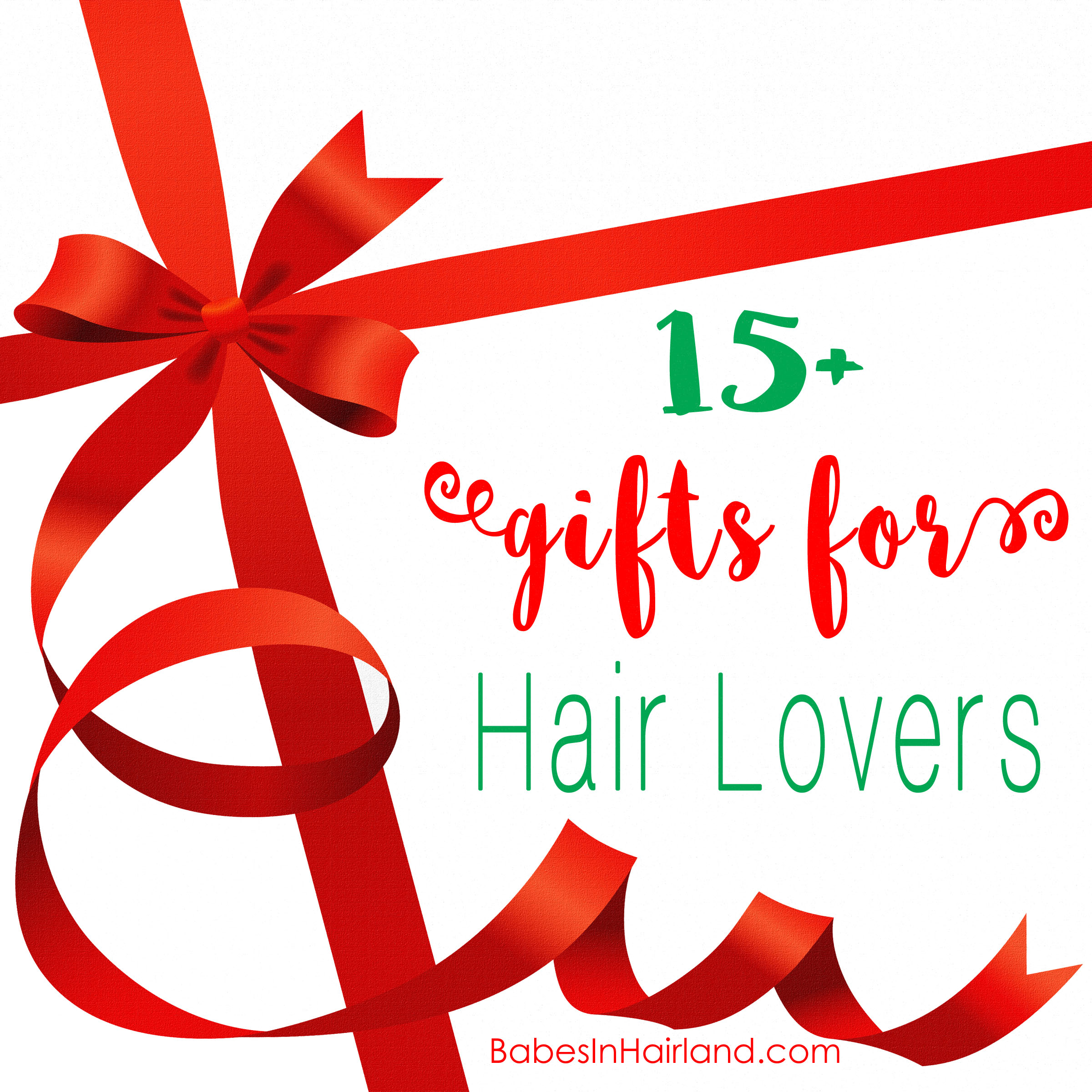 Gifts For Hair Lovers From Babesinhairlandcom #Christmas #Gift #Hairlover #