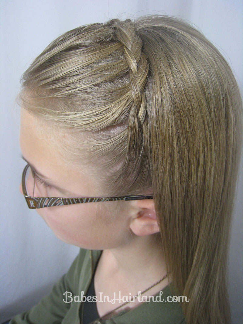 Astounding Lace Braid Headband Babes In Hairland Hairstyle Inspiration Daily Dogsangcom
