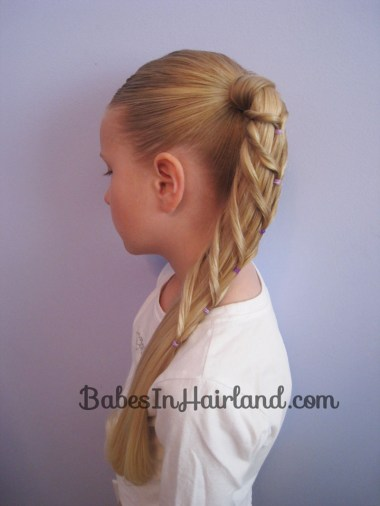 Chevron Ponytail from BabesInHairland.com (9)