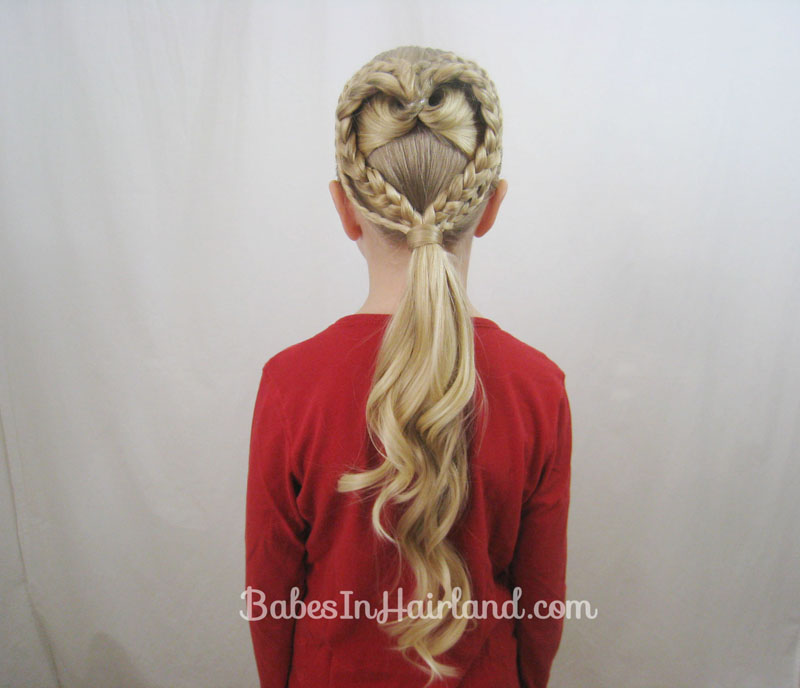 2 Braided Hearts Video Valentines Day Hairstyle Babes In Hairland