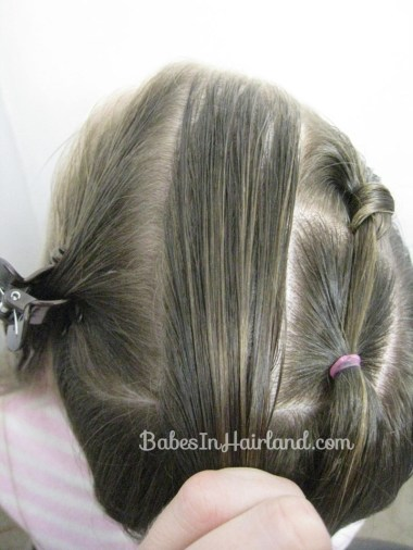 Mini Knots and Ponytails from BabesInHairland.com