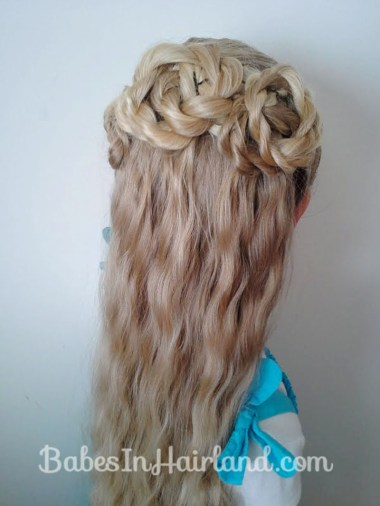 Triple Twisted Half Updo from BabesInHairland.com (2)
