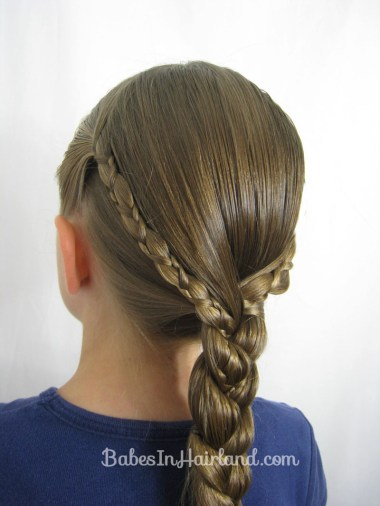 Uneven 3 Strand Braid Video from BabesInHairland.com (1)