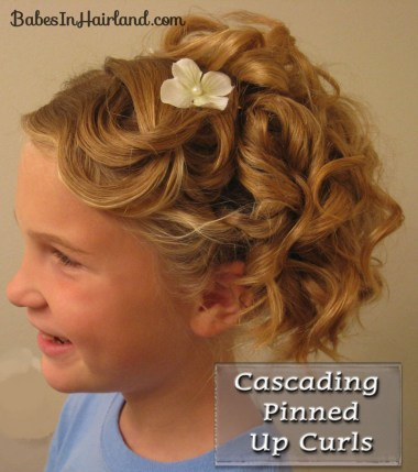 Cascading Pinned Up Curls (1)
