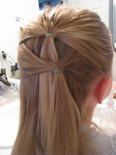 Fancy row of ponytails (6)