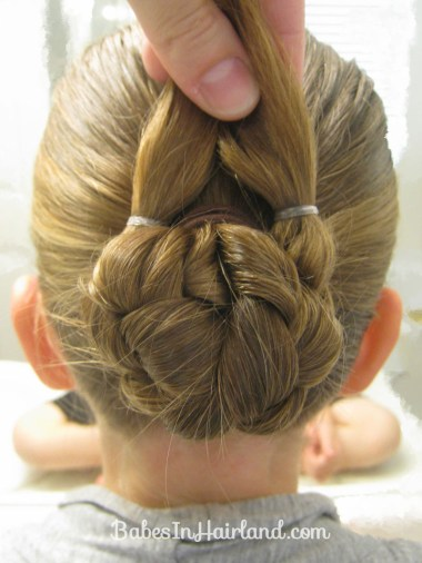 Bun for Shorter Hair (5)