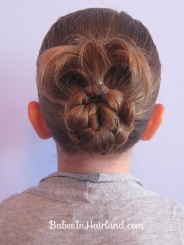 Bun for Shorter Hair (1)