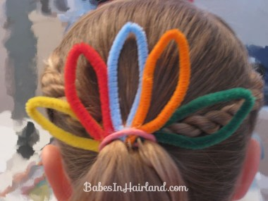 Cute Turkey Bun Hairstyle (6)