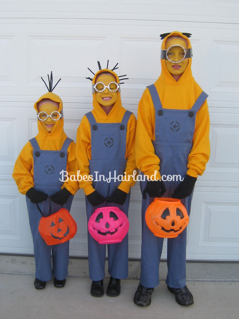 Dispicable Me -Minion Halloween Costumes (7) ... & Purple Minion Halloween Costumes - Babes In Hairland