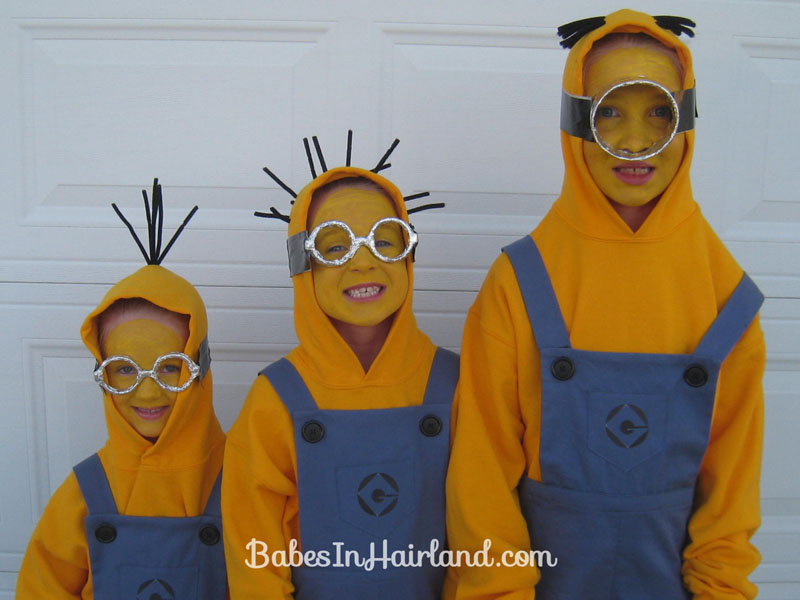 Minion Halloween Costumes - Babes In Hairland
