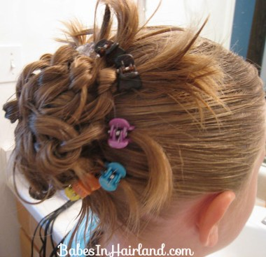 Knotted Peacock Tail Hairstyle (11)