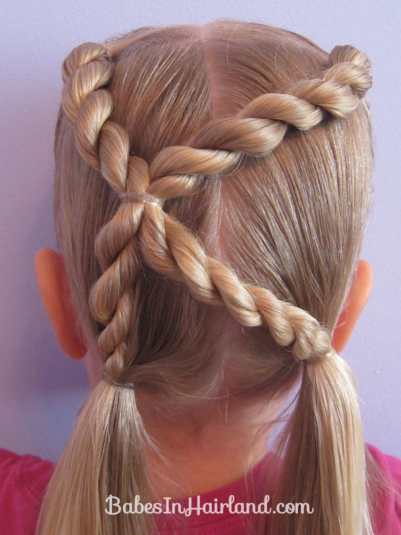 Letter K Hairstyle Babes In Hairland