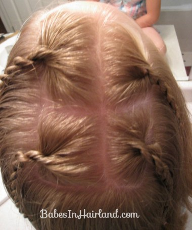 Messy Bun and Accent Braids (2)
