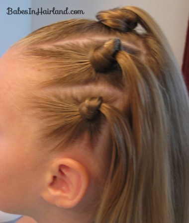 Knotty Flower Girl Hairstyle (8)