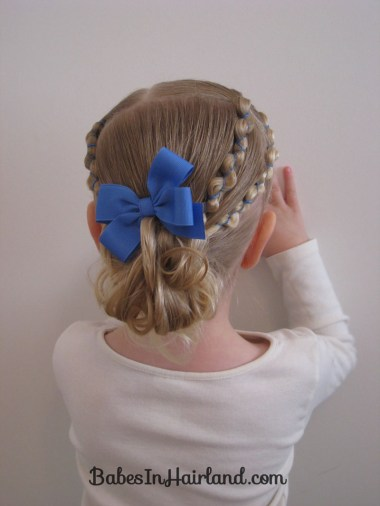 Rubber Band Wraps and Messy Bun (4)