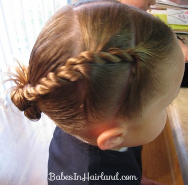 Rope Braids back to a Bun (7)