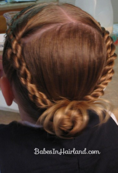 Rope Braids back to a Bun (8)