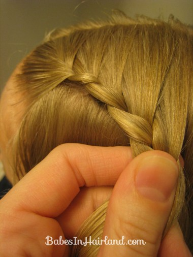 Lauren Conrad Inspired - Half French Braid Wrapped Ponytail (7)