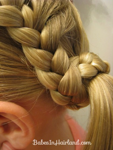 Lauren Conrad Inspired - Half French Braid Wrapped Ponytail (15)