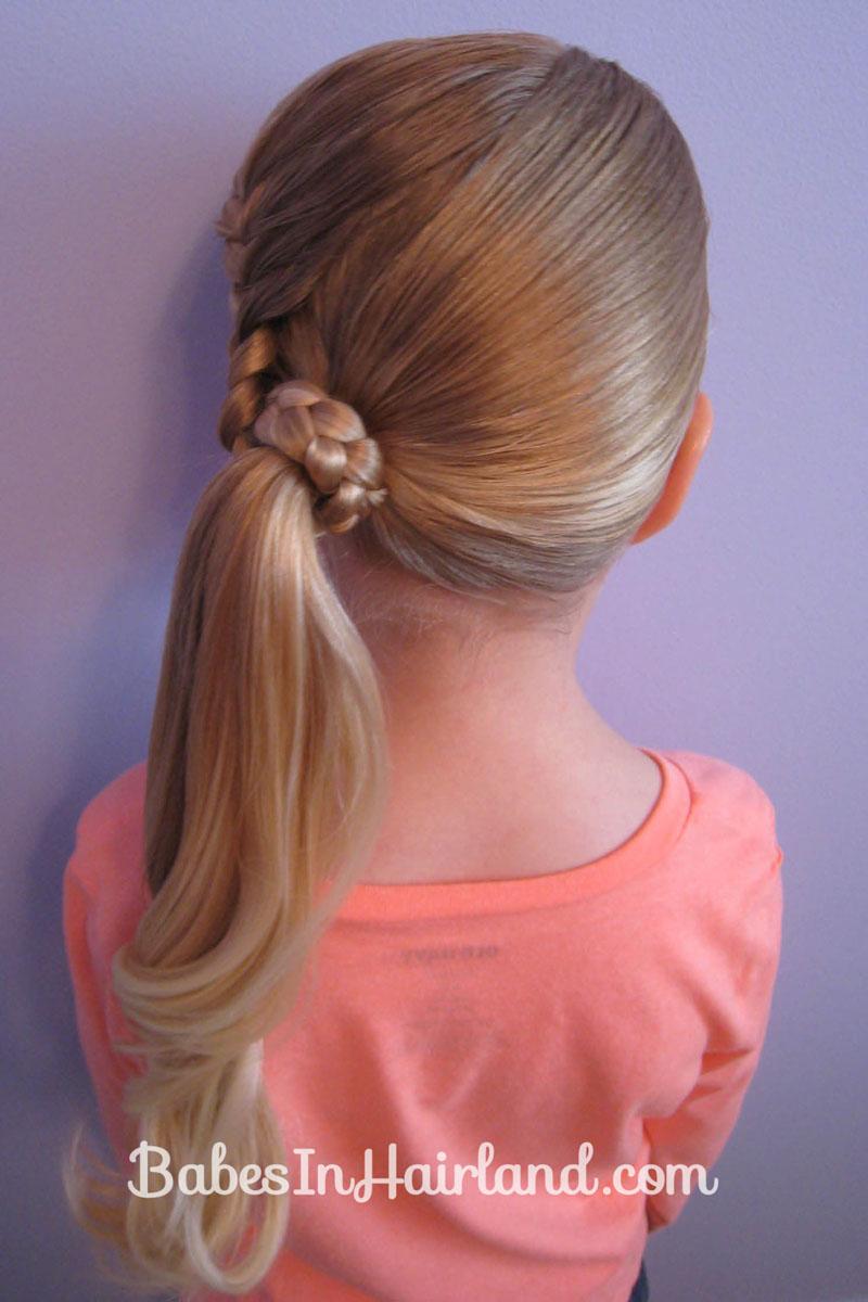 Lauren Conrad Inspired Half French Braid Wrapped