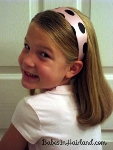 Polka Dot Headband Hairstyles (2)