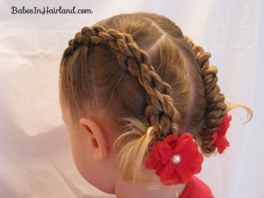 Rope Braids back to a Bun (1)