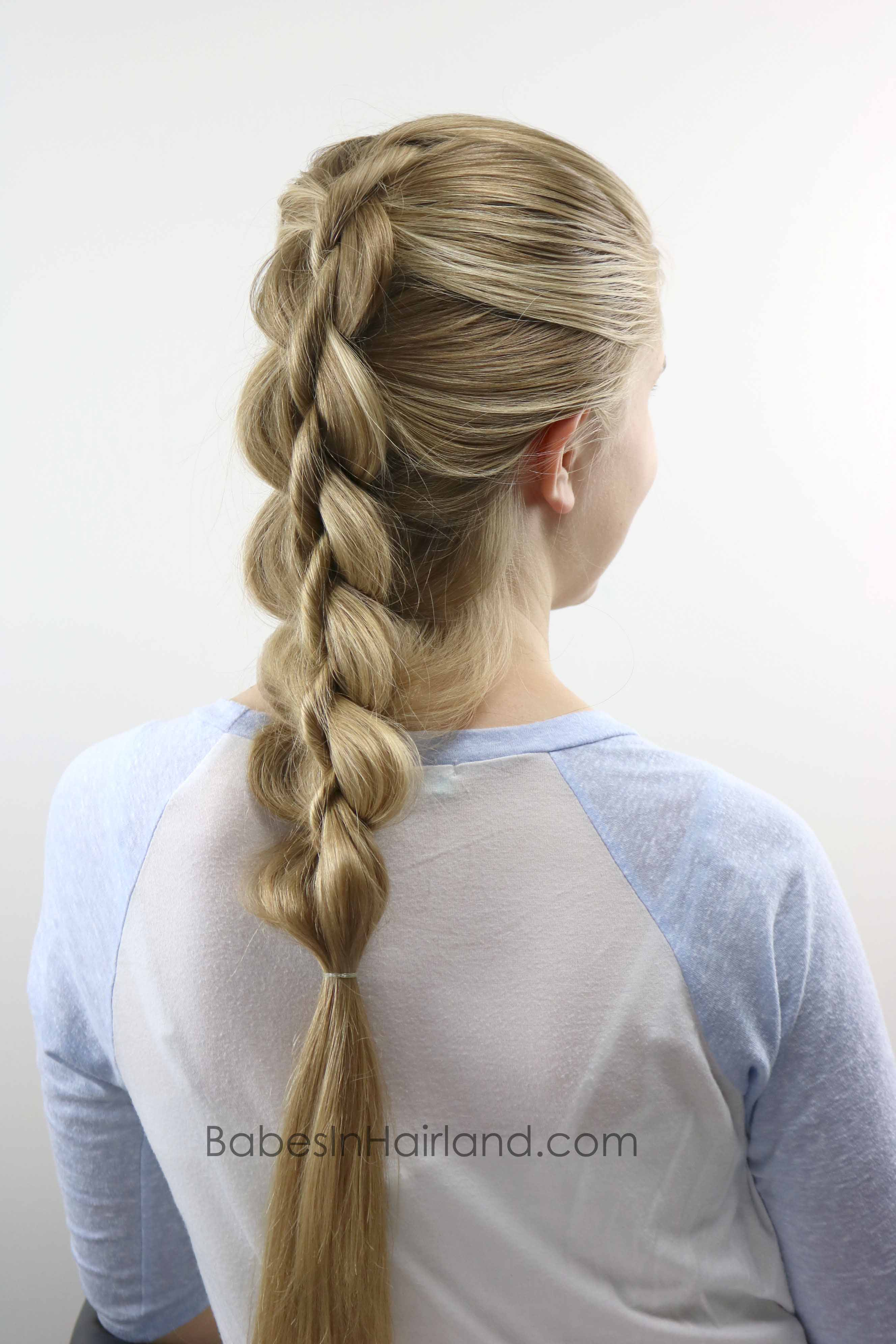 Quot Cheater Quot 4 Strand Dutch Braid Babes In Hairland