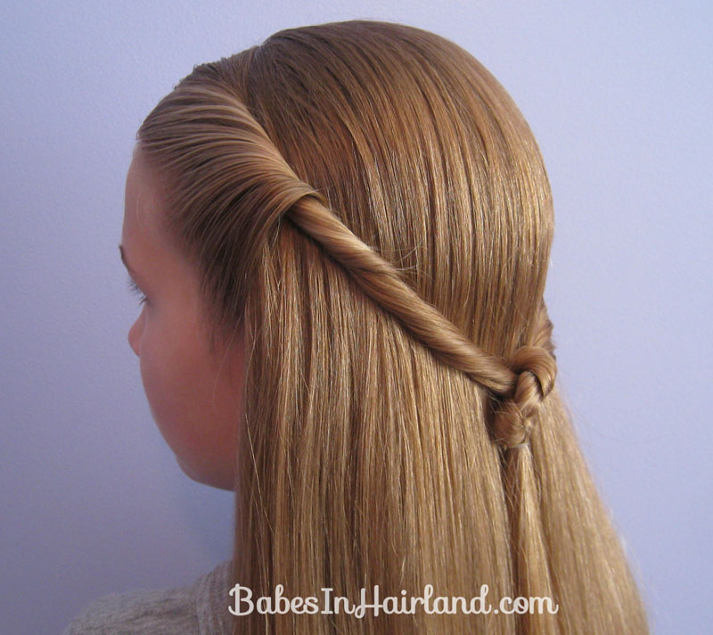 Twisted Knot Hairstyle Teen Hairstyles Babes In Hairland