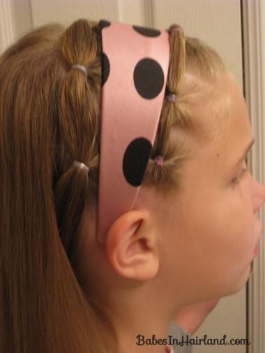 Polka Dot Headband Hairstyles (13)