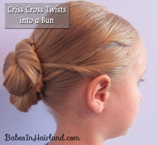 Criss Cross Twists into a Bun (12)