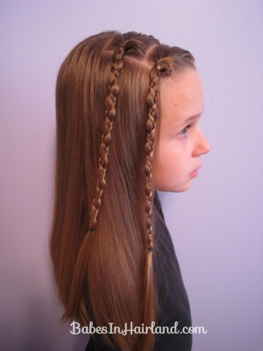 Quick & Easy Uneven Braids Hairstyle (4)