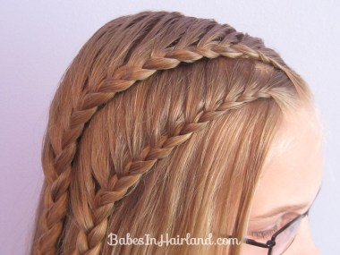 Double 1 Sided French Braids (5)