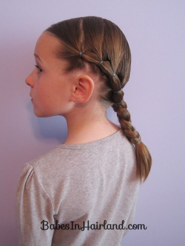 Puffy Braids into a Braid (2)