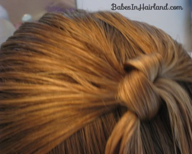 Row of Knots Hairstyle (2)