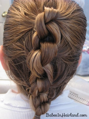 Row of Knots Hairstyle (7)