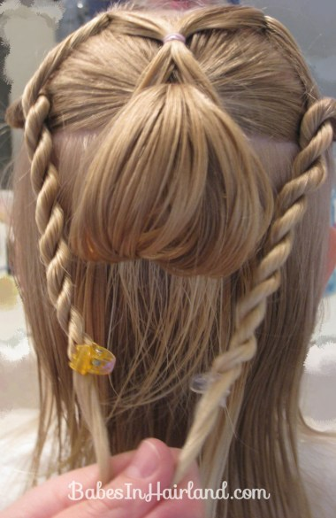 Combo Flower Girl Hairstyle (9)