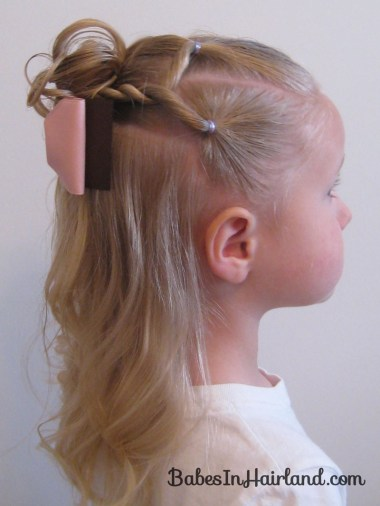 Combo Flower Girl Hairstyle (1)