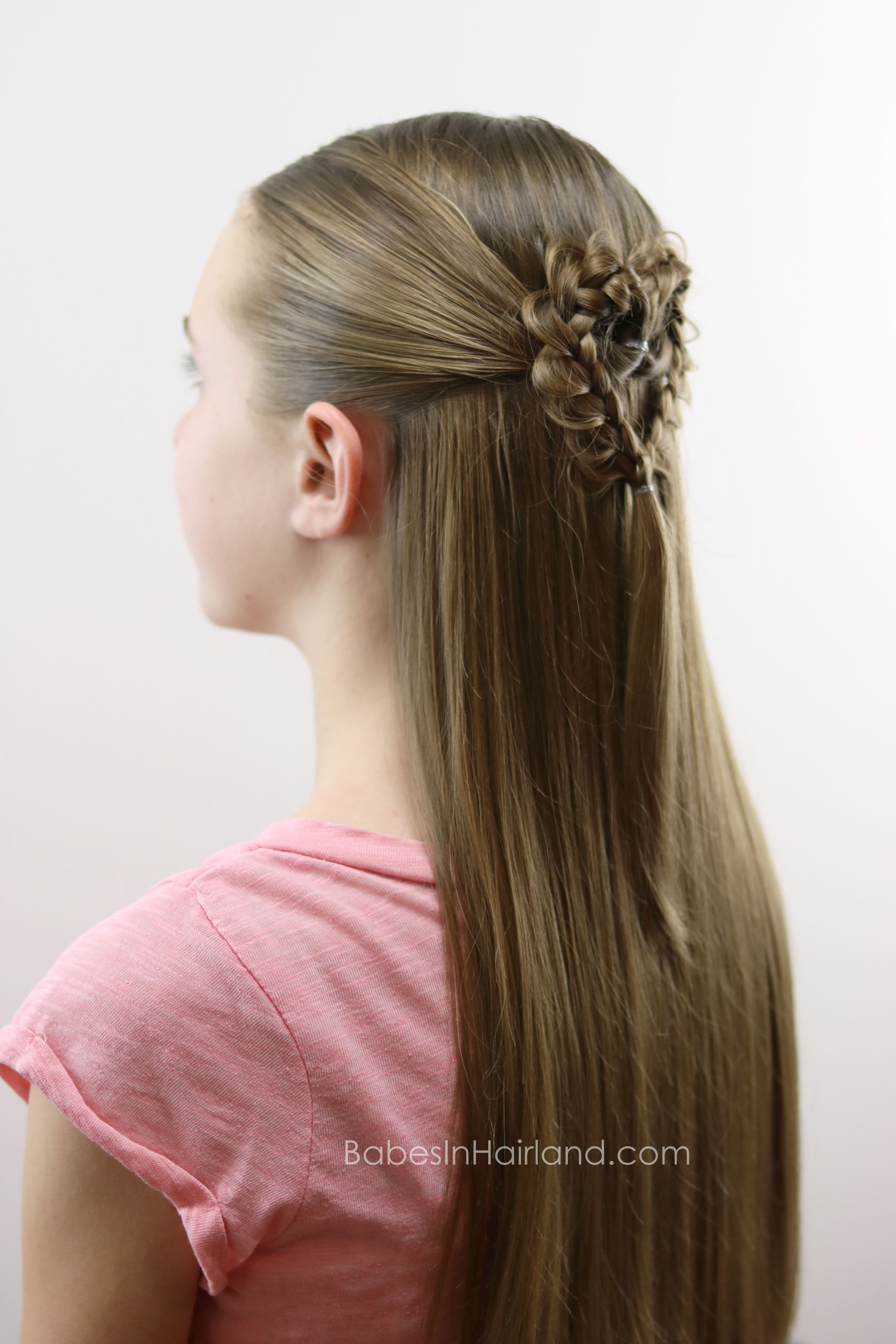 Valentine's Day Hairstyle - Babes In
