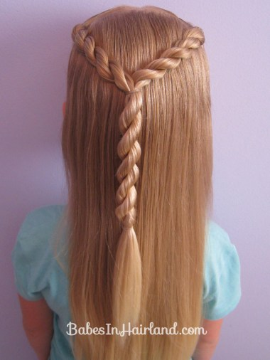 Letter Y Hairstyle (8)