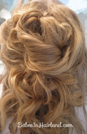 Pile of Curls Updo (5)