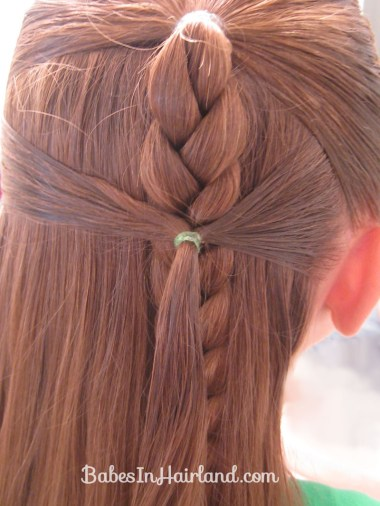 Side Braid and a Topsy Tail Twist (3)