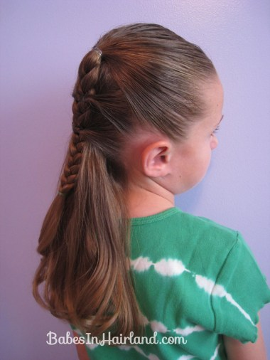 Side Braid and a Topsy Tail Twist (12)