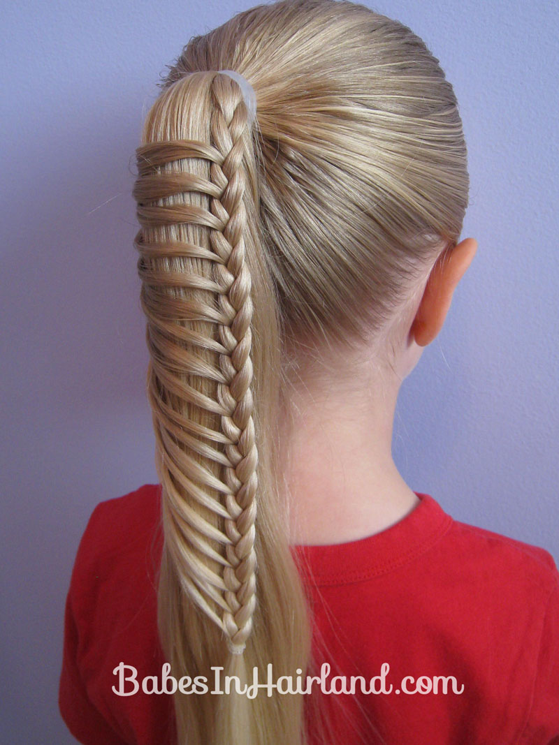 easy braids for school - photo #32