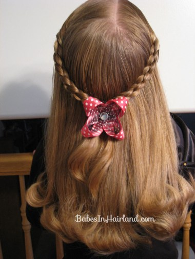 Simple 4 Strand Pullback Hairstyle (4)