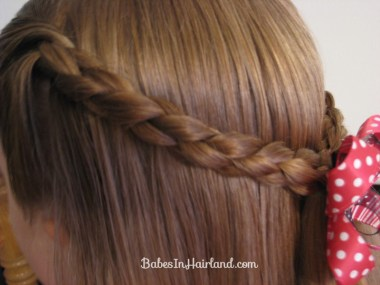 Simple 4 Strand Pullback Hairstyle (5)