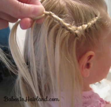 Cascade/Feathered Braid Hairstyle (6)