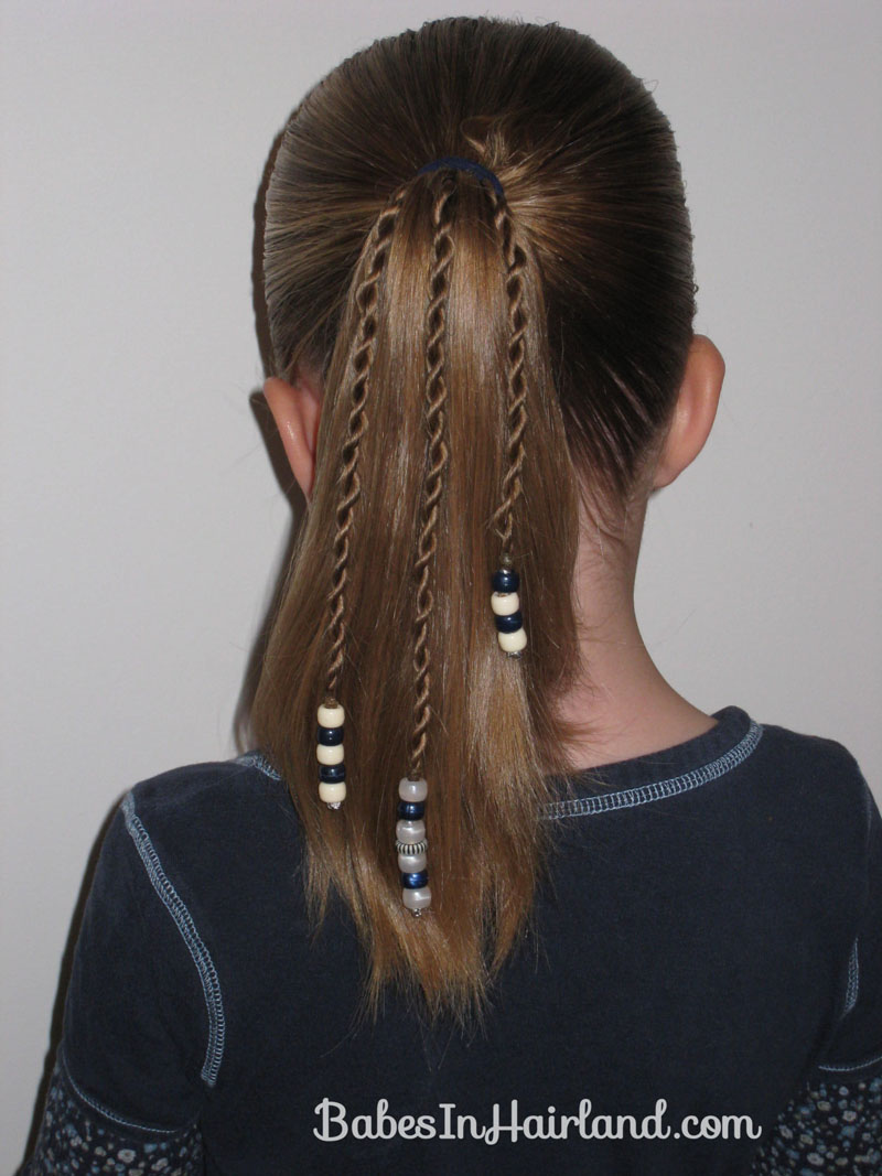 Rope braids with beads babes in hairland how to add beads to the ends of braids 1 ccuart Gallery
